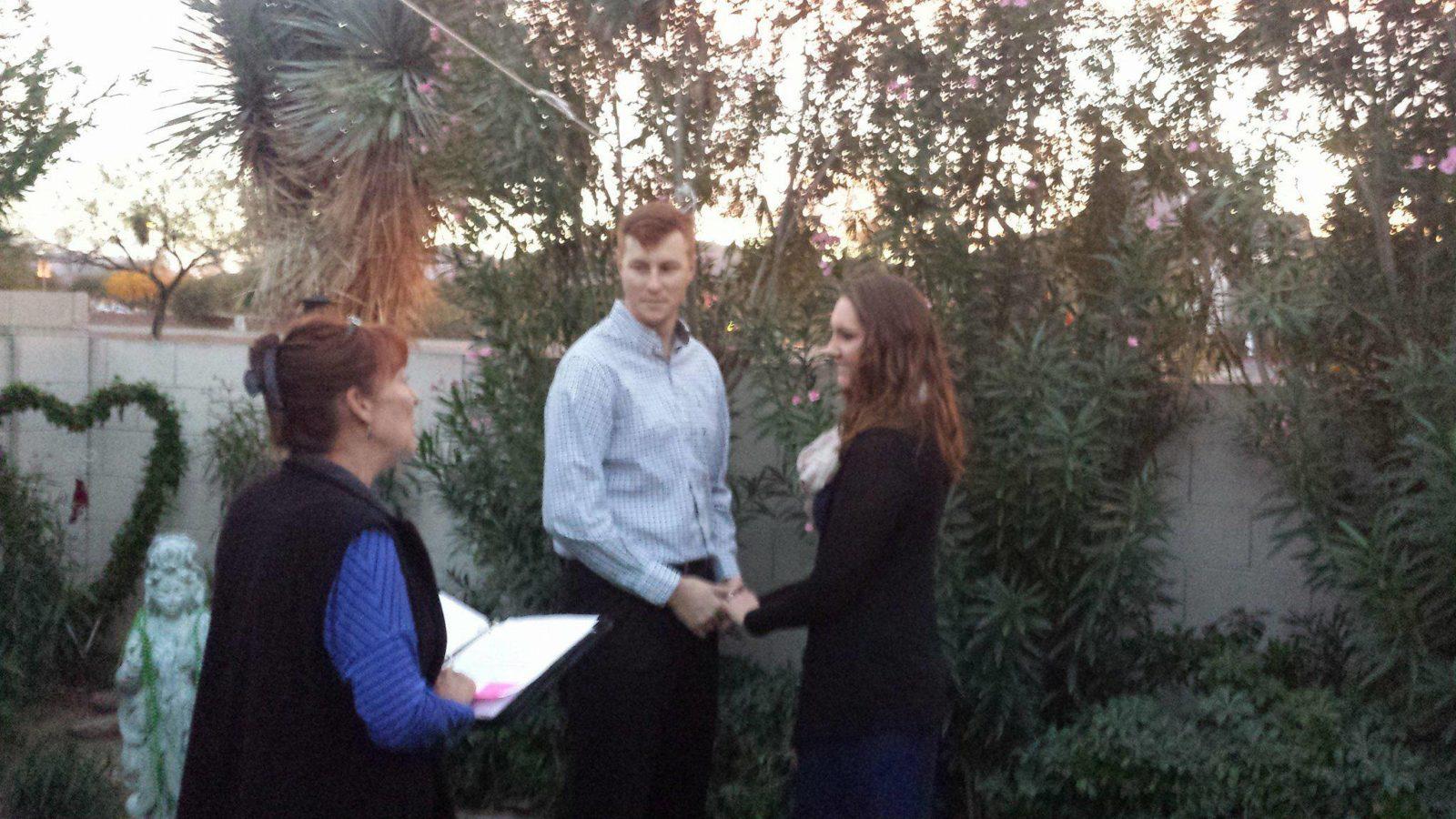 Marriage officiants tucson az weather