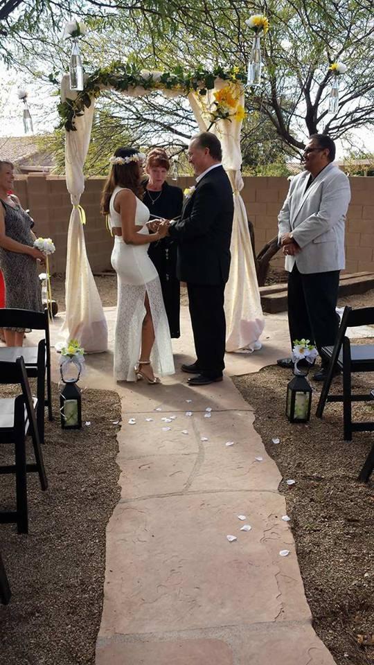 paradise weddings az tucson wedding officiant non